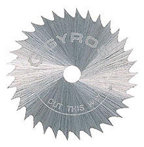 Gyros 81-2101510 Saw Blades Coarse-Teeth 1-Inch Diameter Bulk 10