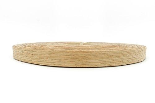 Red Oak Wood Veneer Edge Banding Preglued 1316 X 250 Roll