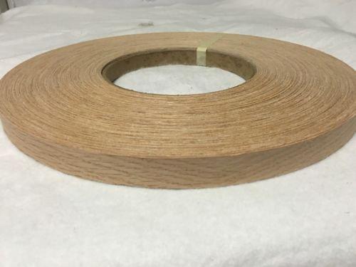 Red oak Pre Glued 3 x50 wood veneer edge banding