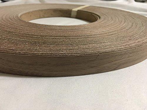 Walnut pre glued  12 to 3x250 wood veneer edge banding 12x250