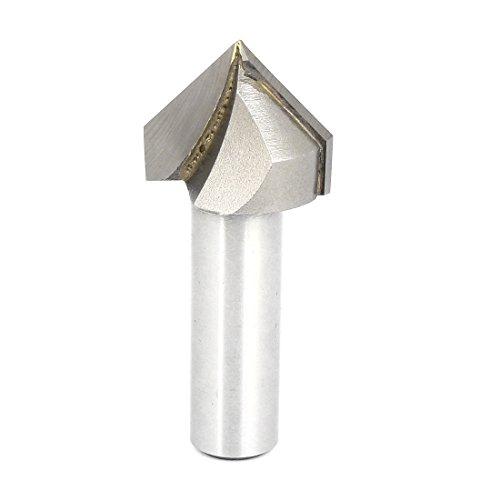12 Shank 1 Cutting Diameter V Type Slotting Cutter Grooving Bit