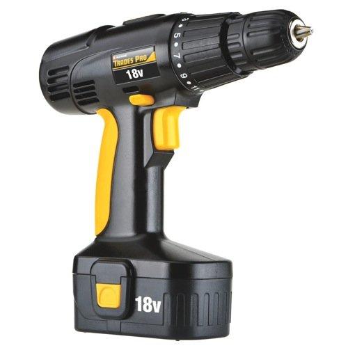 Tradespro Trades Pro 837590 18 Volt Cordless Drill Kit