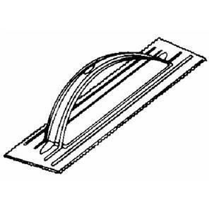Clark Tile PT-062 Poly-Pro V-Notch Trowel by Clark Tile