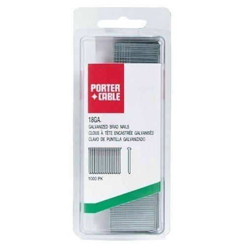 Porter Cable PBN18100-1 18-Gauge 1 Brad Nails 1000 per Box