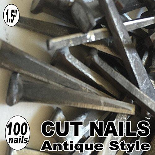 100 15 COMMON CUT Nails-Antique Style