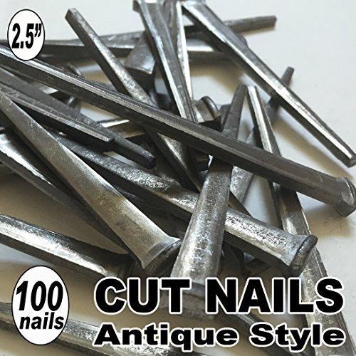 100 25 COMMON CUT Nails-Antique Style