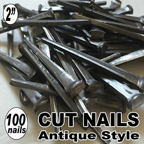 100 2 COMMON CUT Nails-Antique Style