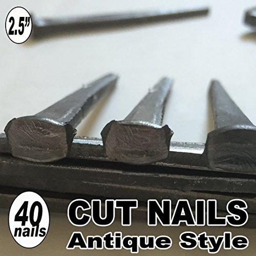 20 25 COMMON CUT Nails-Antique Style