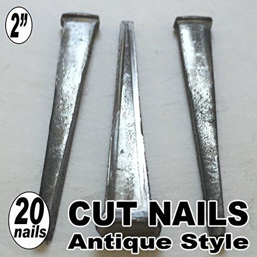 20 2 COMMON CUT Nails-Antique Style
