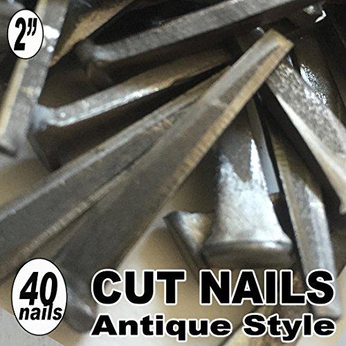 40 2 COMMON CUT Nails-Antique Style
