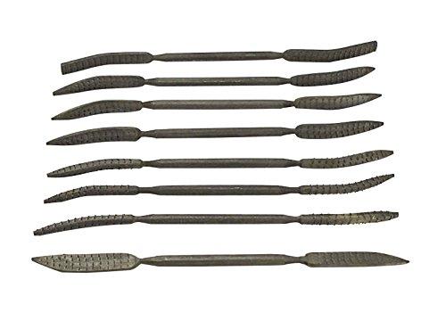 SE 7418WFR Wood Rasp Needle File Set Italian Type
