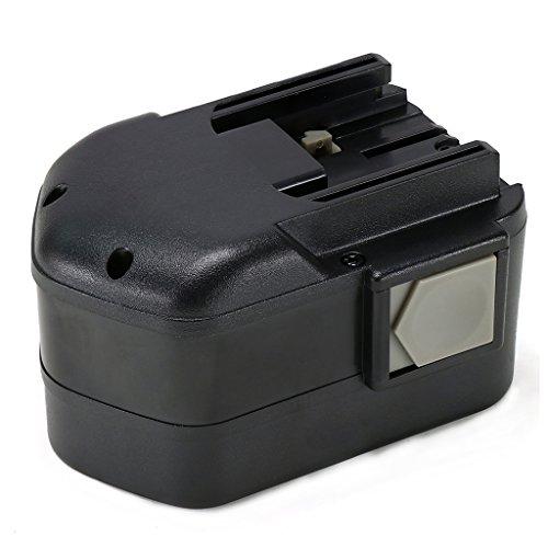 POWERAXIS 144V 3000mAh High Capacity NI-MH Battery Backup for Milwaukee 48-11-1000 48-11-1014 48-11-1024 Series Cordless Tool Slide-Style