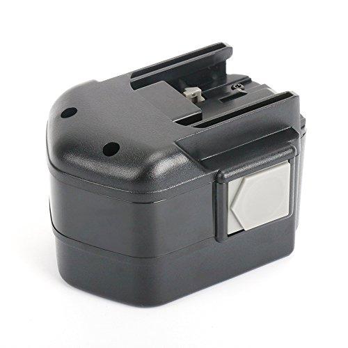 Replace Milwaukee 12V Battery for 48-11-1967 48-11-1950 48-11-1900 48-11-1960 48-11-1970 B 12 MXL 12 Reexbon 12 Volt 30AH  3000mAh Power Plus NiMh Battery