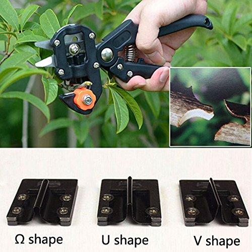 Iron Blade for Garden Grafting Machine Fruit Tree Pruning Shear Cutting Tool Shape U Shape