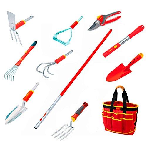 WOLF-Garten Flower Garden Tool Kit - 12 piece tool set