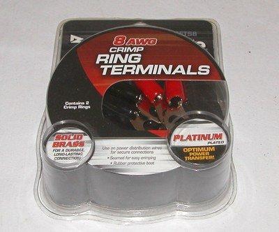 8 AWG Crimp Ring Terminals