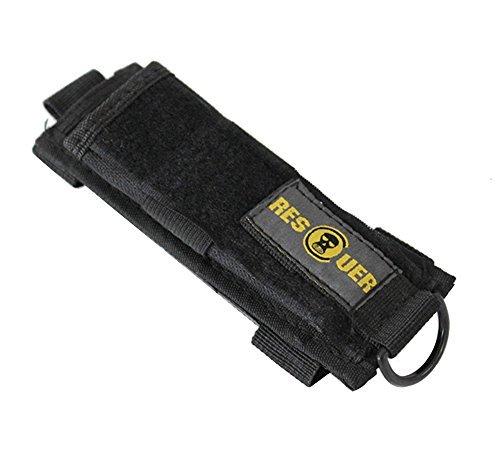 Braudle Flashlight Holster Belt Carry CaseFlashlight Pouch Stun Gun Holster up to 170 mm 65 inches LongExpandable Baton Holster