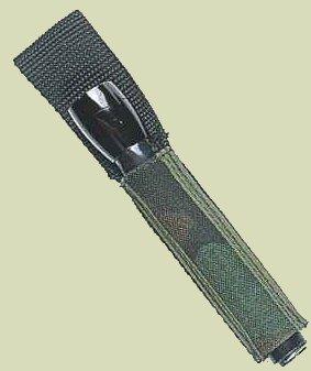 Basic Mini-Flashlight Sheath Black Raine Inc