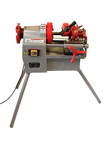 Electric Pipe Threader Machine 12 - 2 Threading Cutter Deburrer NPT P50