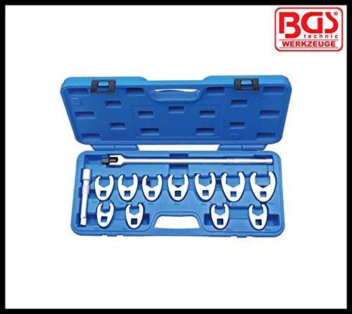 BGS - Werkzeug - 12 Drive - 13 Pcs - Crowfoot Spanner Set - 20 - 32 mm - Pro Range - RRP £9592 BGS-1757 by BGS - Werkzeug