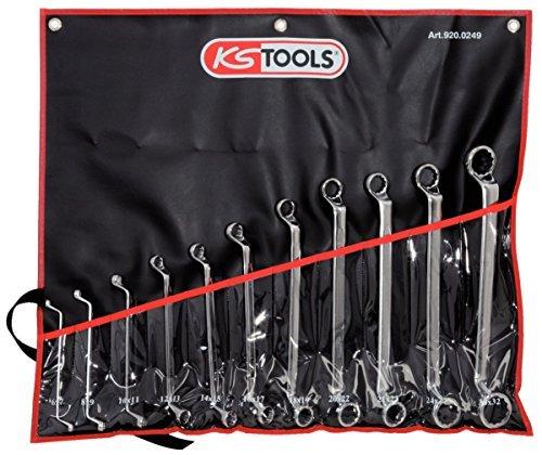 KS Tools 9200248 ULTIMATE ring spanner set offset 8pcs by KS Tools