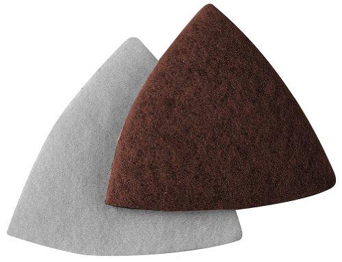 A&H Abrasives 912860 Multi Tool Sanding Shapes Fein Dremel Multi-max H&l FeinDremel H&L Maroon Pads 10 Each