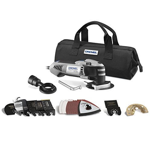 Dremel MM40-03 25-Amp Multi-Max Oscillating Ultimate Tool Kit with 29 Accessories