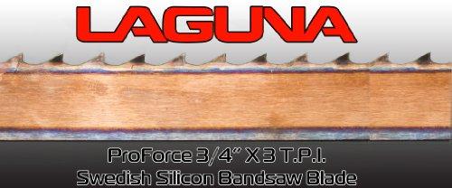 34 X 3 TPI X 115 BandSaw Blade Laguna Tools Proforce Wood Band Saw Blade