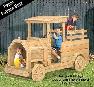 Truck Playground Structure Woodworking Pattern