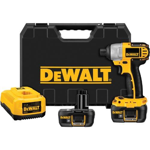 DEWALT DCF826KL 14-Inch 18-Volt Cordless Lithium-Ion Impact Driver Kit