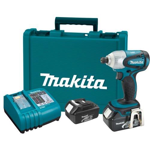 Makita BTD141 18-Volt LXT Lithium-Ion Cordless Impact Driver Kit