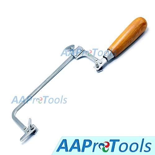 AAProTools Jewelers Saw Frame 4 Throat Polished Steel