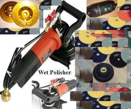 Stone PolisherConcrete Polisher 5 Wet Polisher Kit for Granite PolishConcrete CountertopsFloor