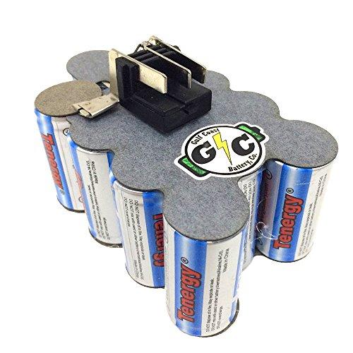 38Ah NiMH Tenergy UPGRADED Internals 144V Milwaukee Battery Model 48-11-1024