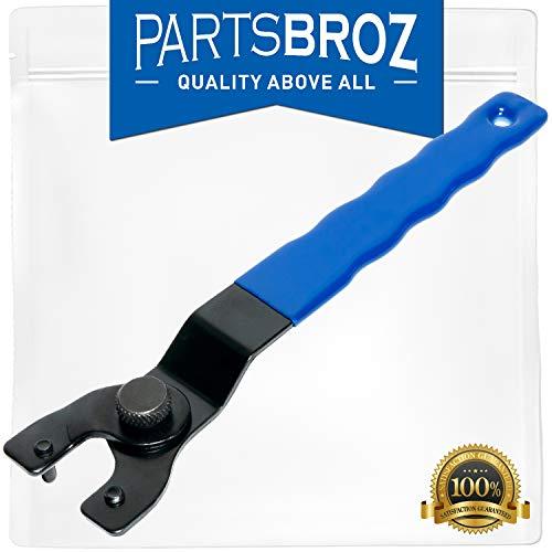 SEWA20 Adjustable Grinder Lock-Nut Wrench for Makita DeWalt Angle Grinders by PartsBroz