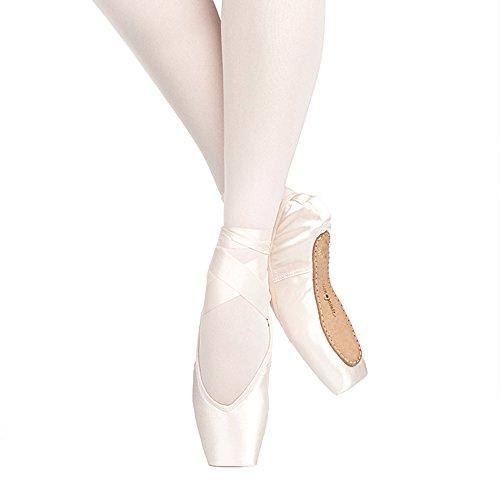 Russian Pointe Rubin Pointe Shoes V-Cut Hard Shank - Size 41 Width 5 Vamp V2