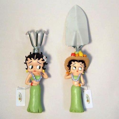 Betty Boop Garden Hand Tools Shovel and Rake