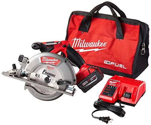 Milwaukee 2730-21 M18 Fuel 6 12 Circ Saw 1 Bat Kit