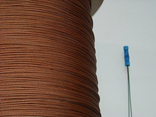 18mm Medium Walnut Blind Cord 100 Feet Plus Threading Tool