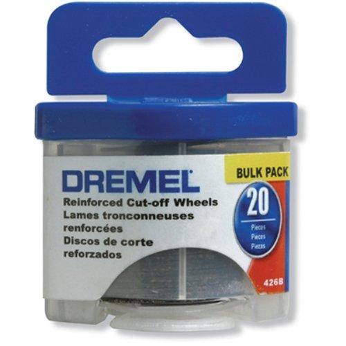 Dremel 426B 20 Piece 1-14-Inch Reinforced Rotary Tool Cut-Off Wheels