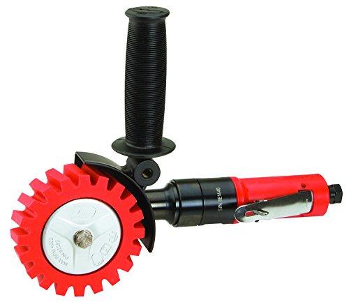 Dynabrade 18258 DynaZip Eraser Wheel Tool Red
