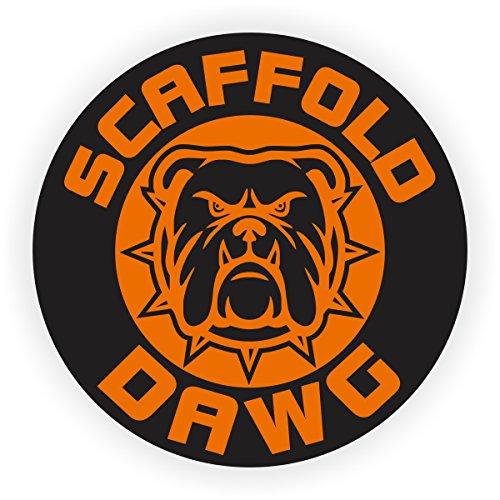 Scaffold Dawg Hard Hat Sticker  Helmet Decal  Label Lunch Tool Box Scaffolder Builder
