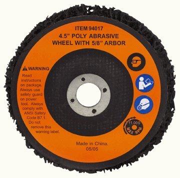 Warrior 4-12 Polycarbide Abrasive Wheel