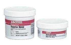 Loctite Fixmaster Gray Two-Part Epoxy Adhesive - Gray Base Accelerator BA - 1 lb Kit - Shore Hardness 90 Shore D Shear Strength 2820 psi Tensile Strength 5500 psi