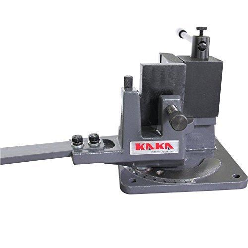 KAKA Industrial UB-100 Heavy-Duty Metal Bender High Precision Hot and Cold Strip Steel Flat Steel Round Steel Metal Bender
