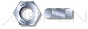 4000pcs 516-18 Hex Nuts Jam Nuts Heavy Grade 5 Steel Zinc Ships FREE in USA by Aspen Fasteners 3NU024-51618