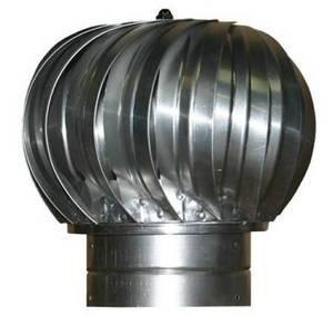 Turbine Ventilator - Heavy Grade 4 Inch Galvanized