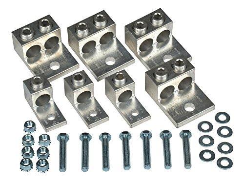 14 Piece Mechanical Set-Screw Type Transformer Lug Kit 225 KVA 3 Phase by NSI