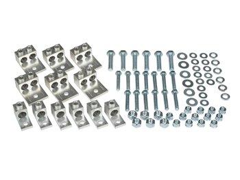 31 Piece Mechanical Set-Screw Type Transformer Lug Kit 75-100 KVA 1 Phase 100-150 KVA 3 Phase