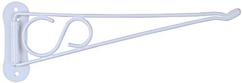 National Hardware V2651 10-Inch Swivel Bracket White